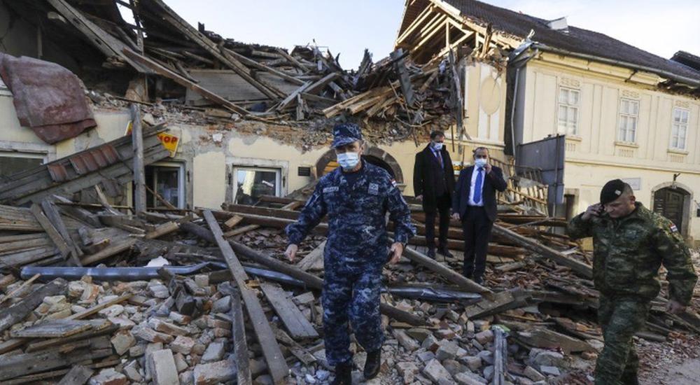 क्रोएसियामा भूकम्प, कम्तिमा सातको मृत्यु