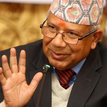 पार्टी र आन्दोलन एकतावद्ध बनाउन लागौं : माधव नेपाल