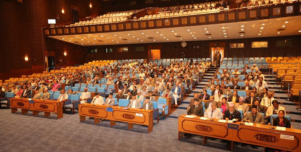संसदमा एमालेको माधव नेपाल समूहका सांसद प्रतिपक्षमै बस्ने