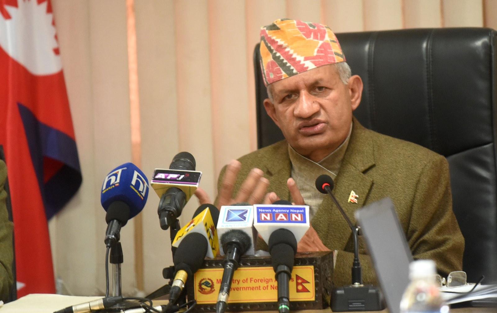 परराष्ट्र मन्त्री पर्सी भारत जाने, उच्च राजनीतिक भेटघाट गर्ने