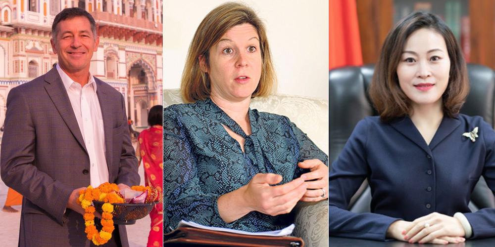 नेपालमा राजदूतहरूको 'ट्विप्लोमेसी', को कति लोकप्रिय ?