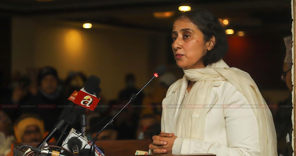 राष्ट्रवादी नेपाली एकजुट होऔं : मनिषा कोइराला