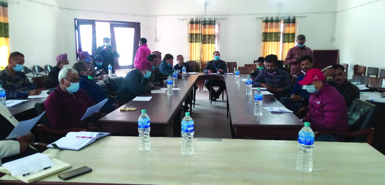प्रचण्ड-माधव पक्षले बहिष्कार गर्यो निर्वाचन आयोगको कार्यक्रम