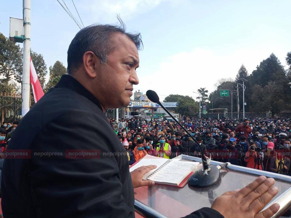 केपी ओली जनताको अधिकार खोस्ने शासक: थापा