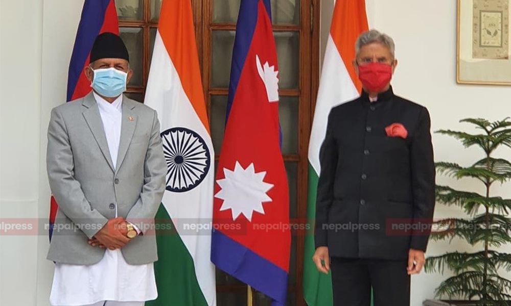 हैदरावाद हाउसमा नेपाल-भारत संयुक्त आयोगको बैठक सुरू