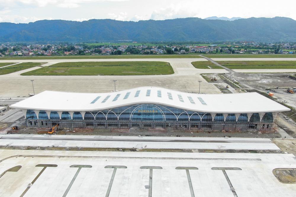 पोखरा अन्तर्राष्ट्रिय विमानस्थलः ६ महिनामा निर्माण सकिने, एक वर्षपछि सञ्चालनमा (तस्वीरसहित)