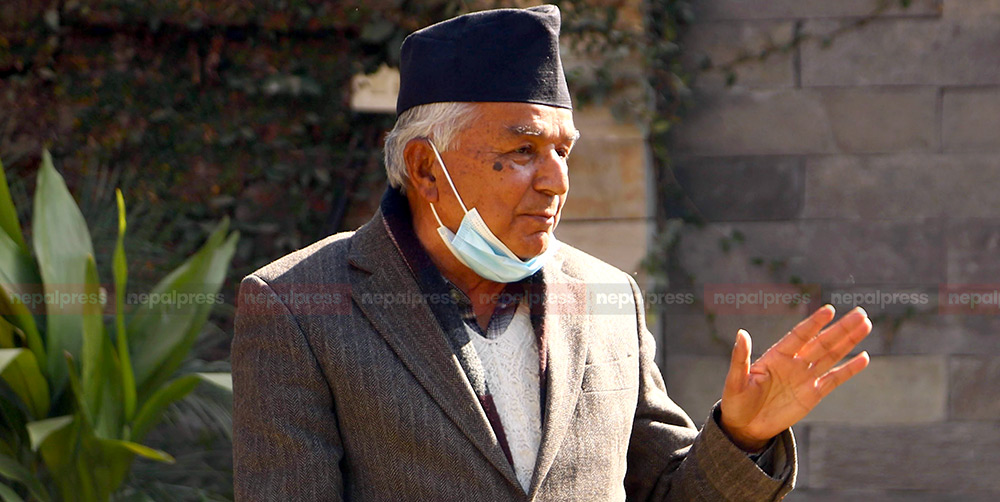 अविश्वास प्रस्तावको पक्षमा काग्रेस उभिन्छ : रामचन्द्र पौडेल