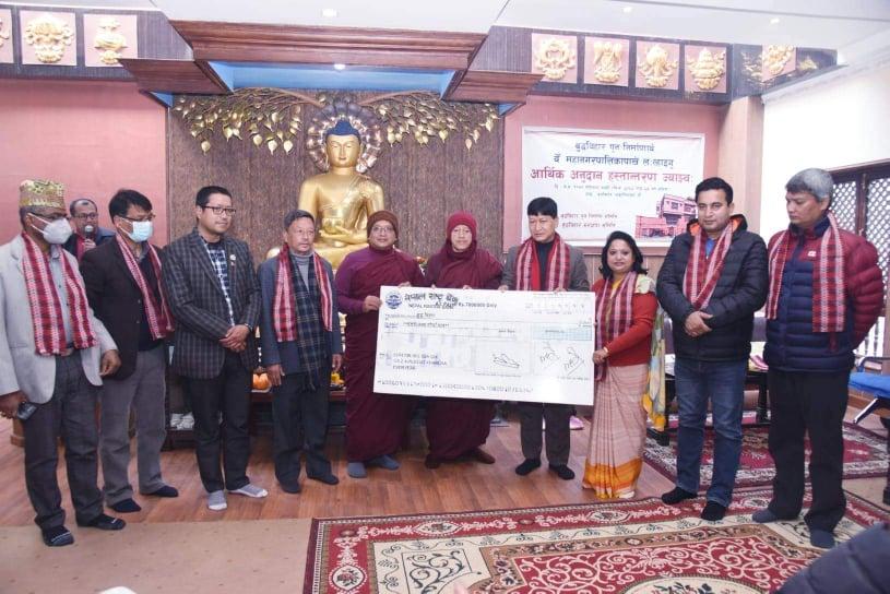 नेपाल चिनाउने संस्कृति, सम्पदा र विहार निर्माण पुनर्निर्माणकाे उच्च प्राथमिकतामाः प्रमुख शाक्य