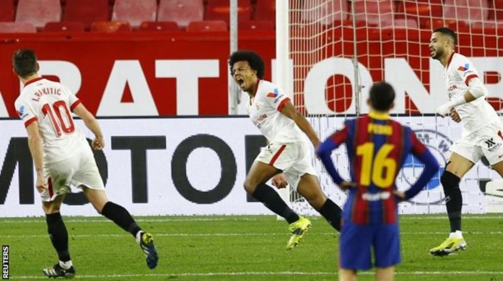 राकिटिचले पूर्व क्लबबिरुद्ध गोल गरेपछि सेभियासँग हार्यो बार्सिलोना