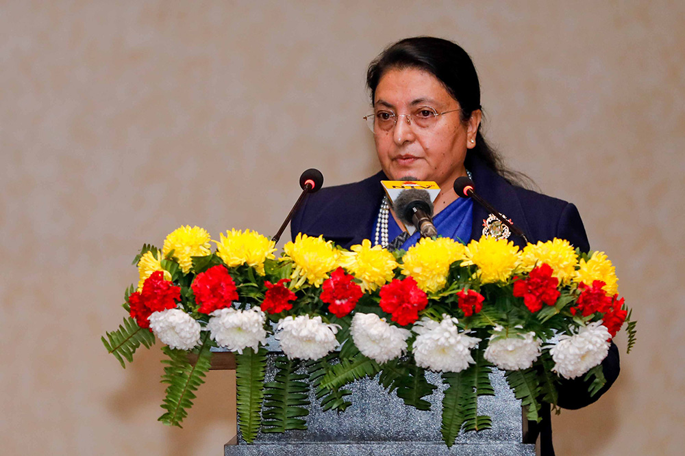 राष्ट्रपतिद्वारा फागुन २३ गते संसद अधिवेशन आह्वान