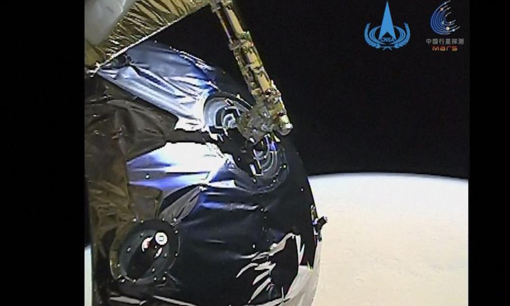 चिनियाँ अन्तरिक्षयानले मंगल ग्रहबाट पृथ्वीमा पठायो भिडियो