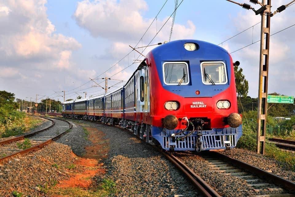 भोलि जयनगर-जनकपुर रेल्वे ट्रयाकमा स्पिड परीक्षण गरिने