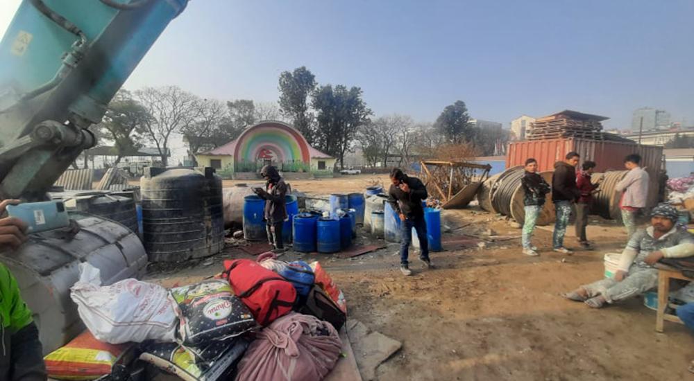 काठमाडौं महानगरले खुला मञ्च पूर्ण खाली गर्दै, अस्थायी बसपार्क सारिने