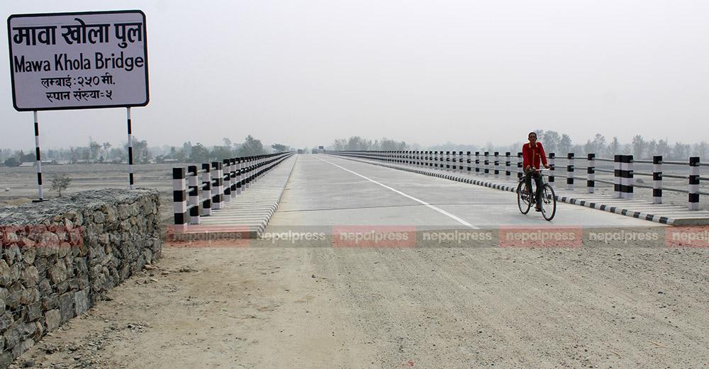 मदन भण्डारी राजमार्गको पूर्वी रुट निर्माण थालियो, २६ वटा पुल एकसाथ बन्दै