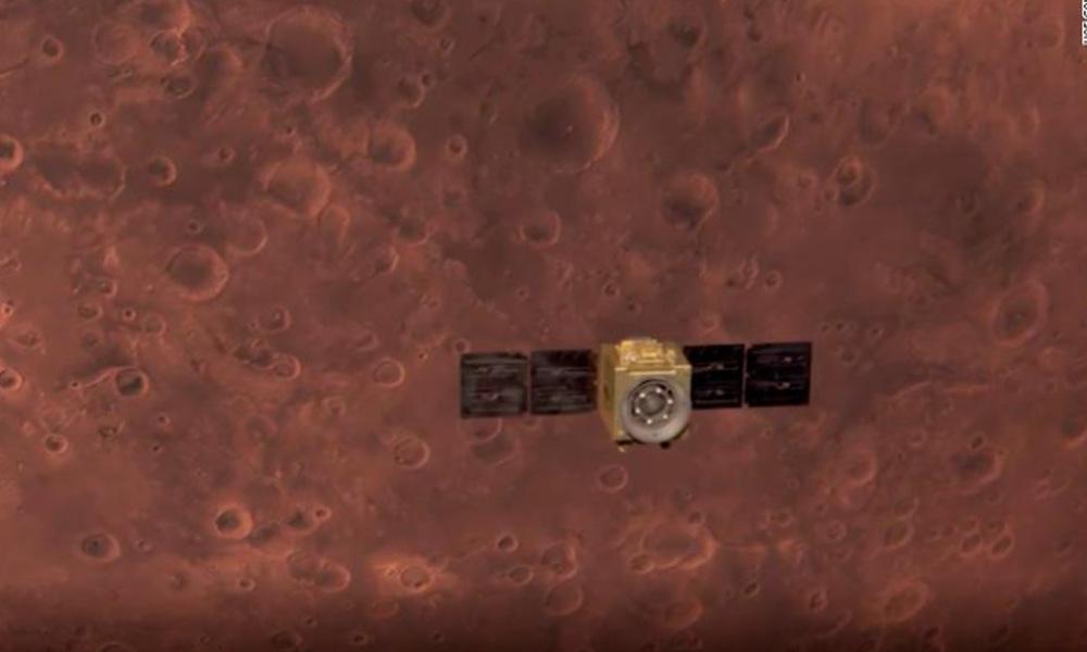 युएई बन्यो अन्तरिक्ष महाशक्ति, मंगल कक्षमा स्पेसक्राफ्ट अवतरण