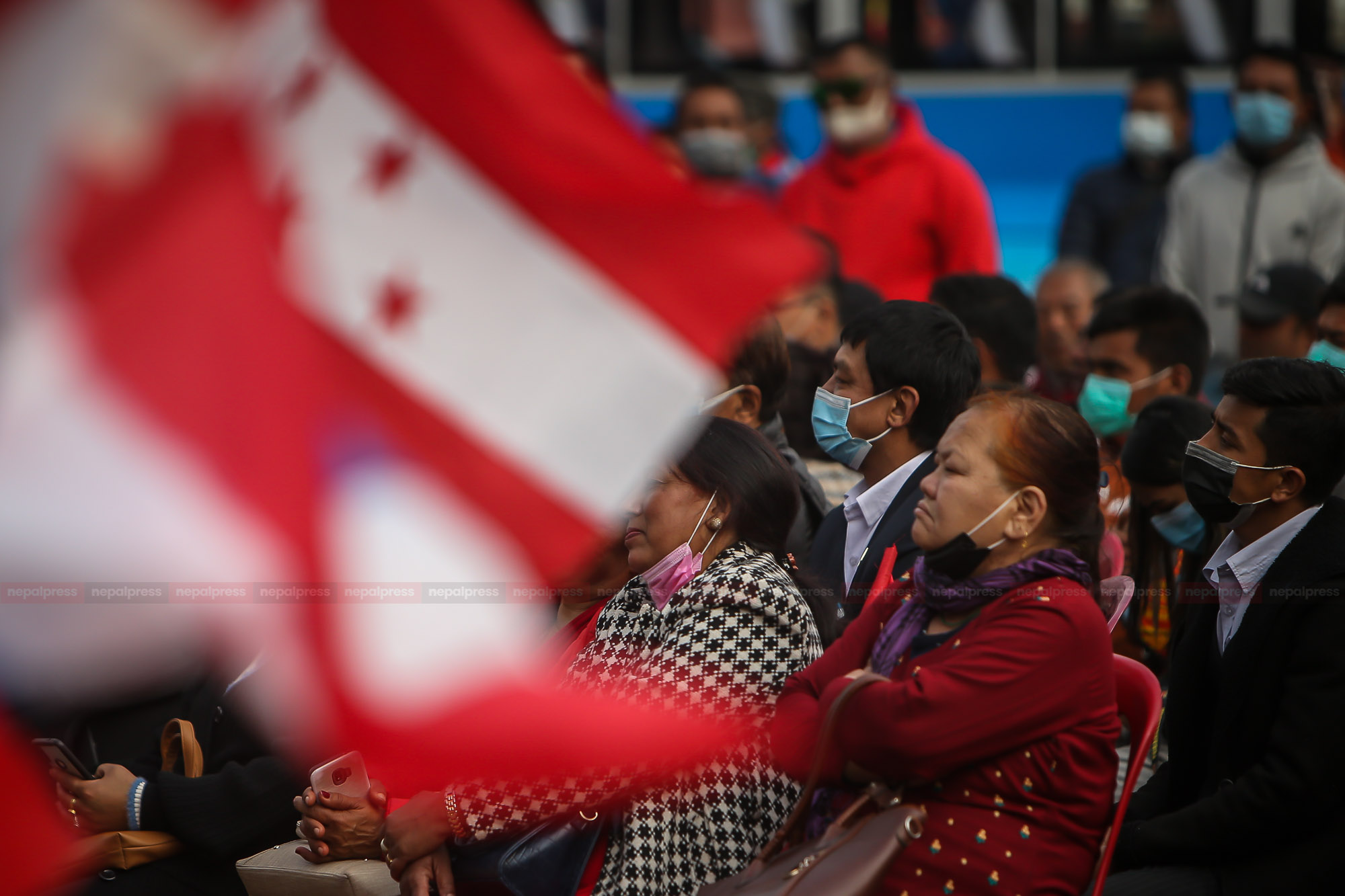 प्रतिनिधिसभा विघटनविरुद्ध कांग्रेसको प्रदर्शन