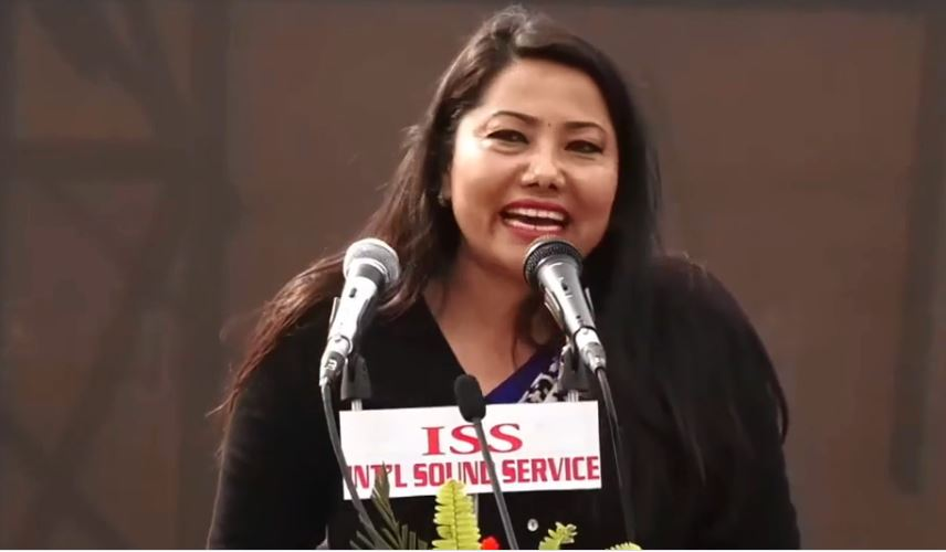 रामकुमारी भन्छिन्- राष्ट्रपतिविरुद्ध बोल्न पाइन्छ, महिला अस्मिताको प्रश्न कसरी आयो ? (भिडियो)