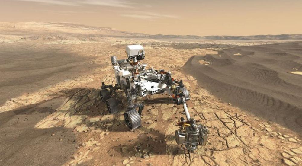 जीवन सम्भावनाको खोजीमा पठाइएको नासाको अन्तरिक्ष यान मंगलमा अवतरण