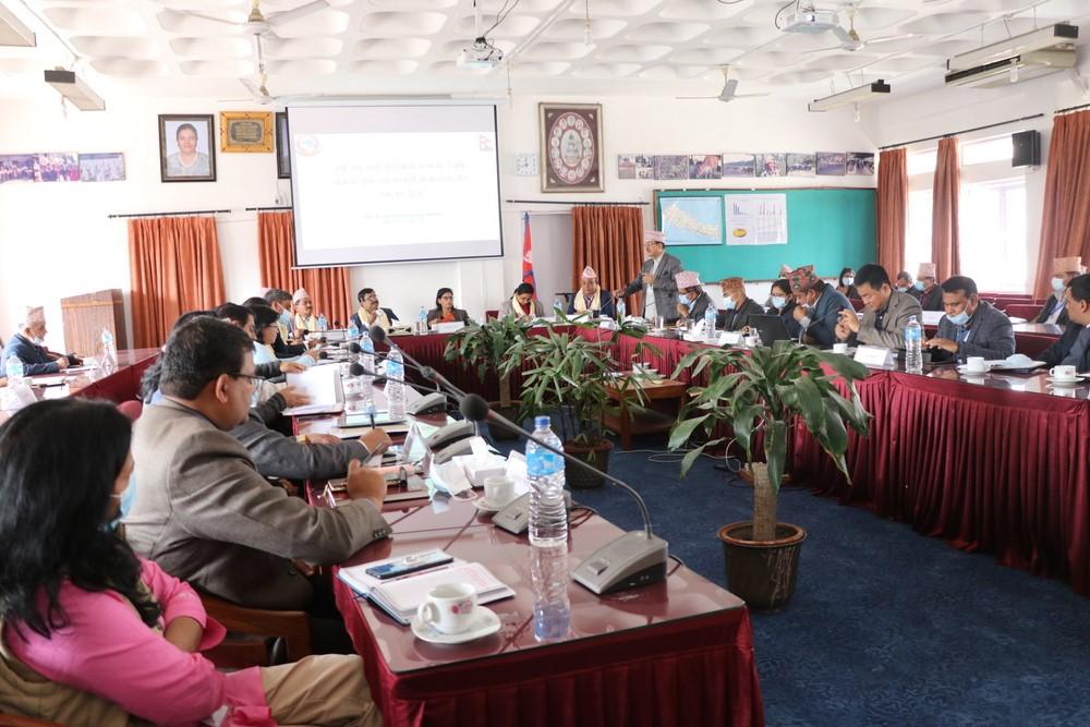 स्थानीय तहसँगै प्रदेश सरकारको विशेष भूमिका हुनुपर्नेमा कृषिमन्त्री अर्यालको जोड