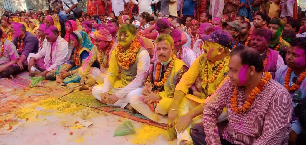 रंगले रंगियो कञ्चनवन, जहाँ भगवान रामले खेलेका थिए होली