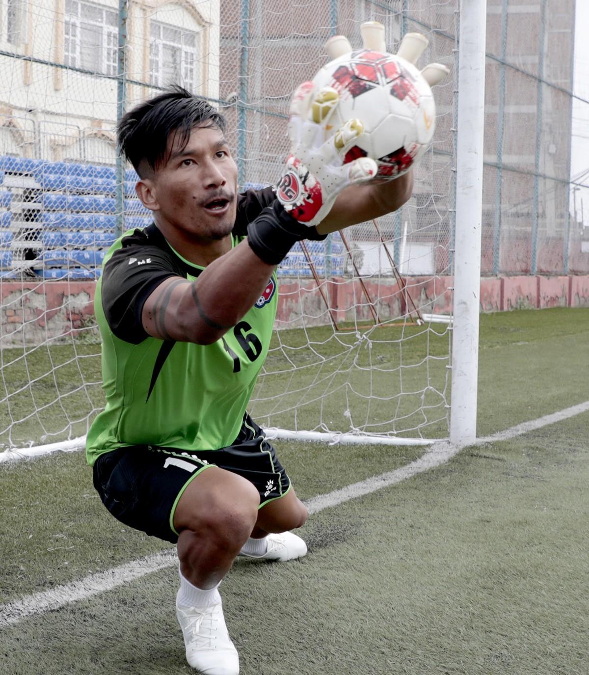 नेपाली कप्तान किरण चुनिए साताको उत्कृष्ट एसियाली खेलाडी