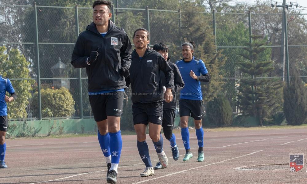 ६ वर्षपछि दशरथ रंगशालामा फर्किँदै राष्ट्रिय फुटबल टोली, भोलि किर्गिस्तानसँग आमनेसामने