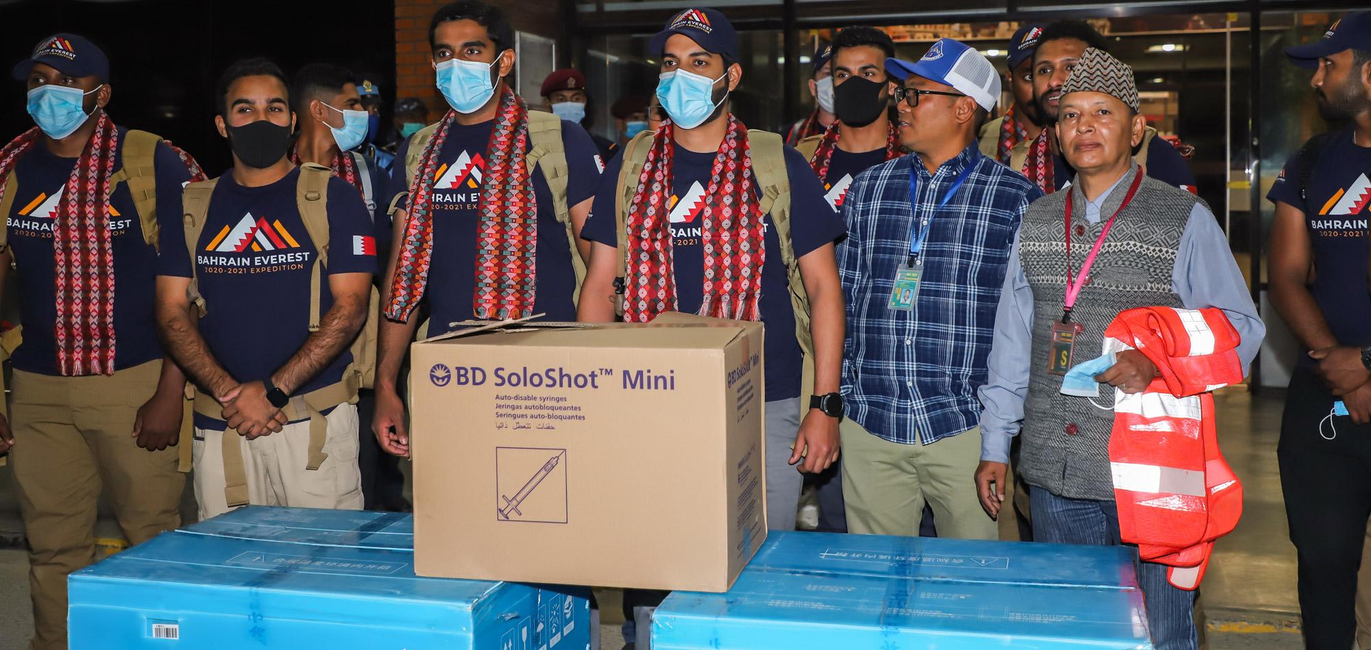 सगरमाथा चढ्न नेपाल आयो बहराइनको 'भीआइपी' टोली