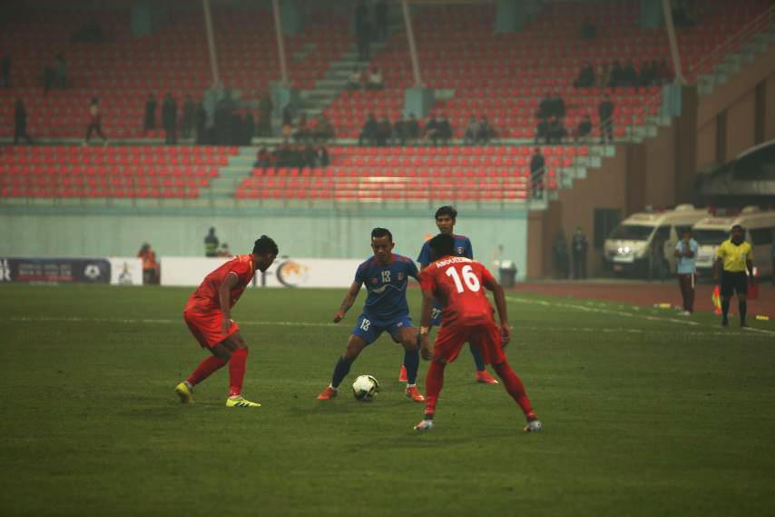 दोस्रो बराबरी खेल्दै नेपाल थ्री नेसन्स कपको फाइनलमा