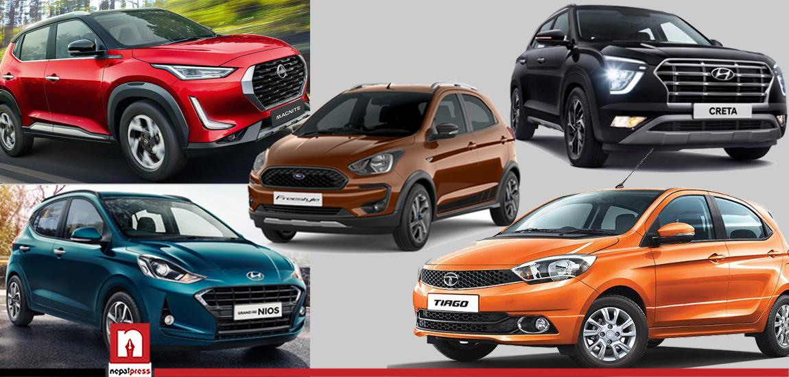 भारतले मापदण्ड फेर्दा नेपालमा महंगिए गाडी, ५० हजारदेखि ४ लाखसम्म मूल्यवृद्धि