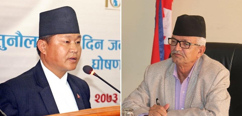 माधव नेपाल पक्षले प्रदेश १ र बागमतीमा मुख्यमन्त्रीविरुद्धको अविश्वास प्रस्ताव फिर्ता लिने