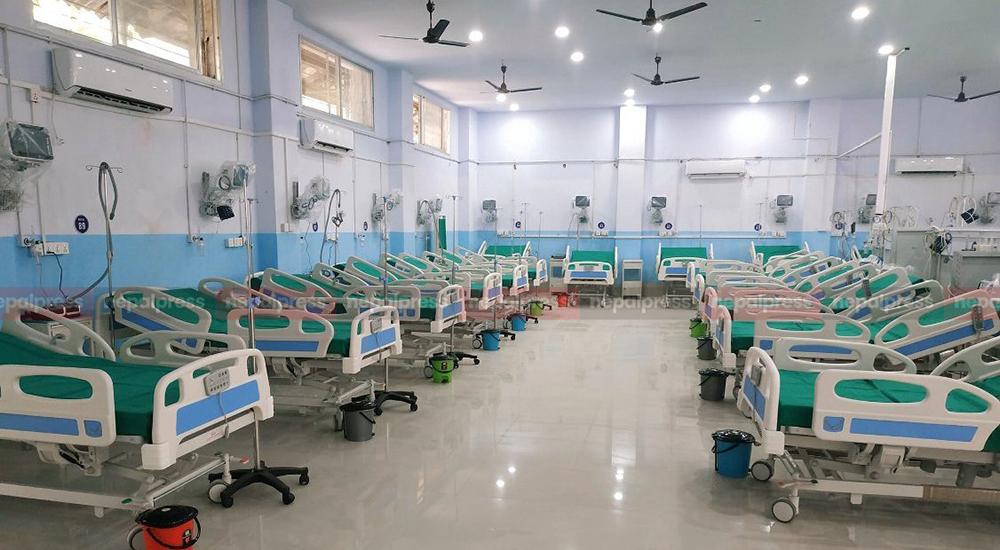 विराटनगरको कोभिड अस्पताल खाली, करारका कर्मचारीलाई विदा
