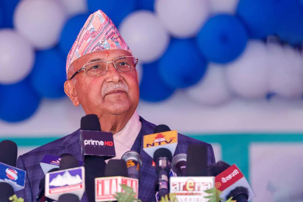 प्रचण्ड-माधव नेपाल समेतलाई निम्तो पठाउँदै ओली पक्षले बोलायो संसदीय दलको बैठक