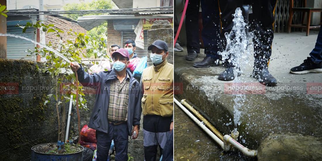 पुरानो वितरण प्रणालीबाट आएको पानी तत्काल पिउनयोग्य, नयाँको परीक्षण गरिने