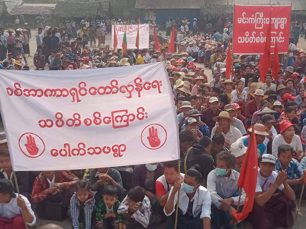 म्यानमार हिंसामा मृत्यु हुनेको संख्या ८०० नाघ्यो, नेतृ सू ची अदालतमा उपस्थित