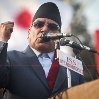 प्रचण्डको चुनावी रणनीति : कांग्रेस रिझाएर चितवन बनाउलान् त कम्फर्टेबल