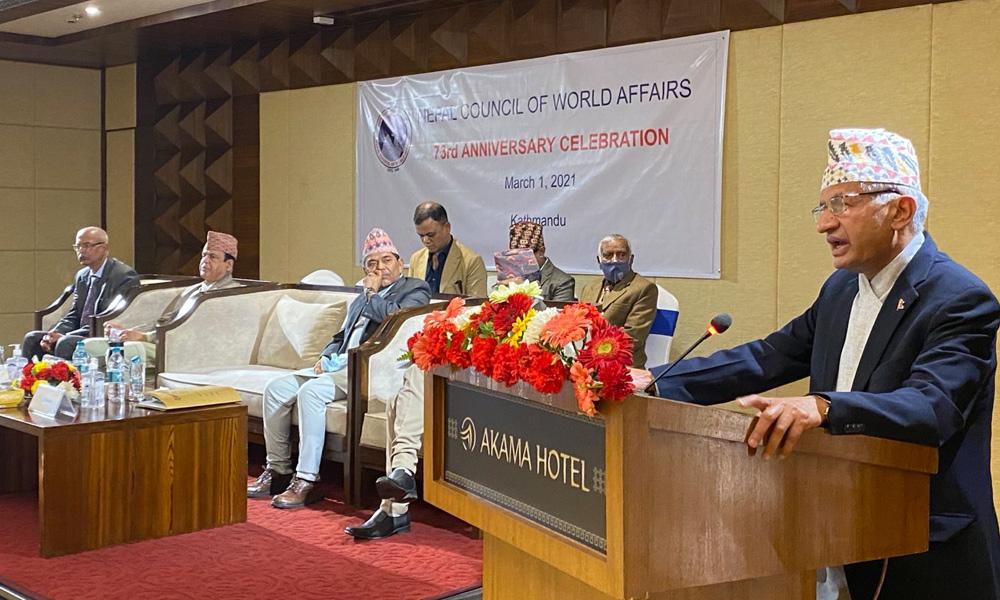 नेपाली भूमि र चासोविरुद्ध गतिविधि नगर्न छिमेकी मुलुकलाई परराष्ट्रमन्त्रीको आग्रह