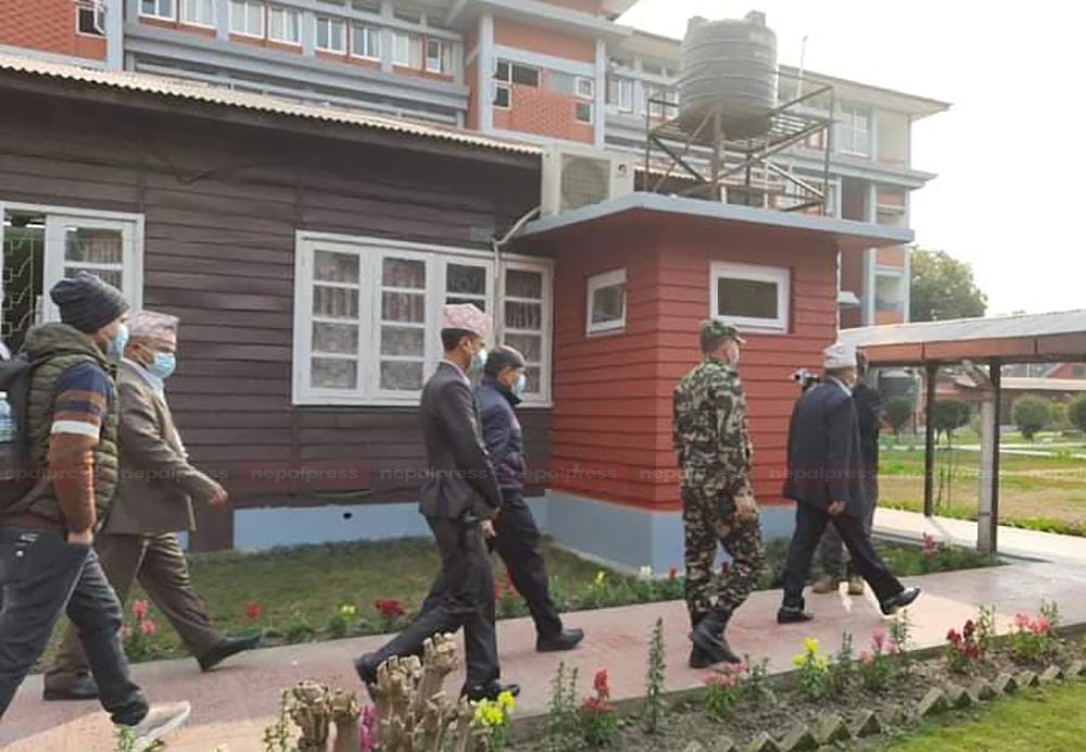 नेकपामा एकताको चहलपहल : शंकर पोखरेल र घनश्याम भुसालबीच घनीभूत छलफल