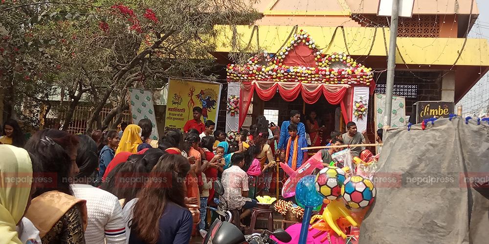 जनकपुरमा महाशिवरात्रिको रौनक (तस्वीरहरु)