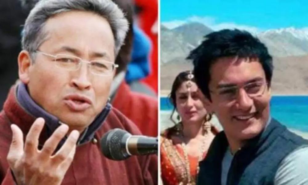 'थ्री इडियट्स' फिल्मका सोनम वाङ्चुक काठमाडौंमा, महावीरसँग सहकार्य गर्ने
