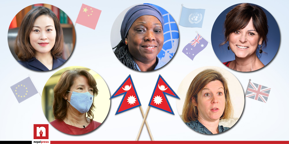 शक्तिराष्ट्रको काठमाडौं मिसन हाँक्दै महिला
