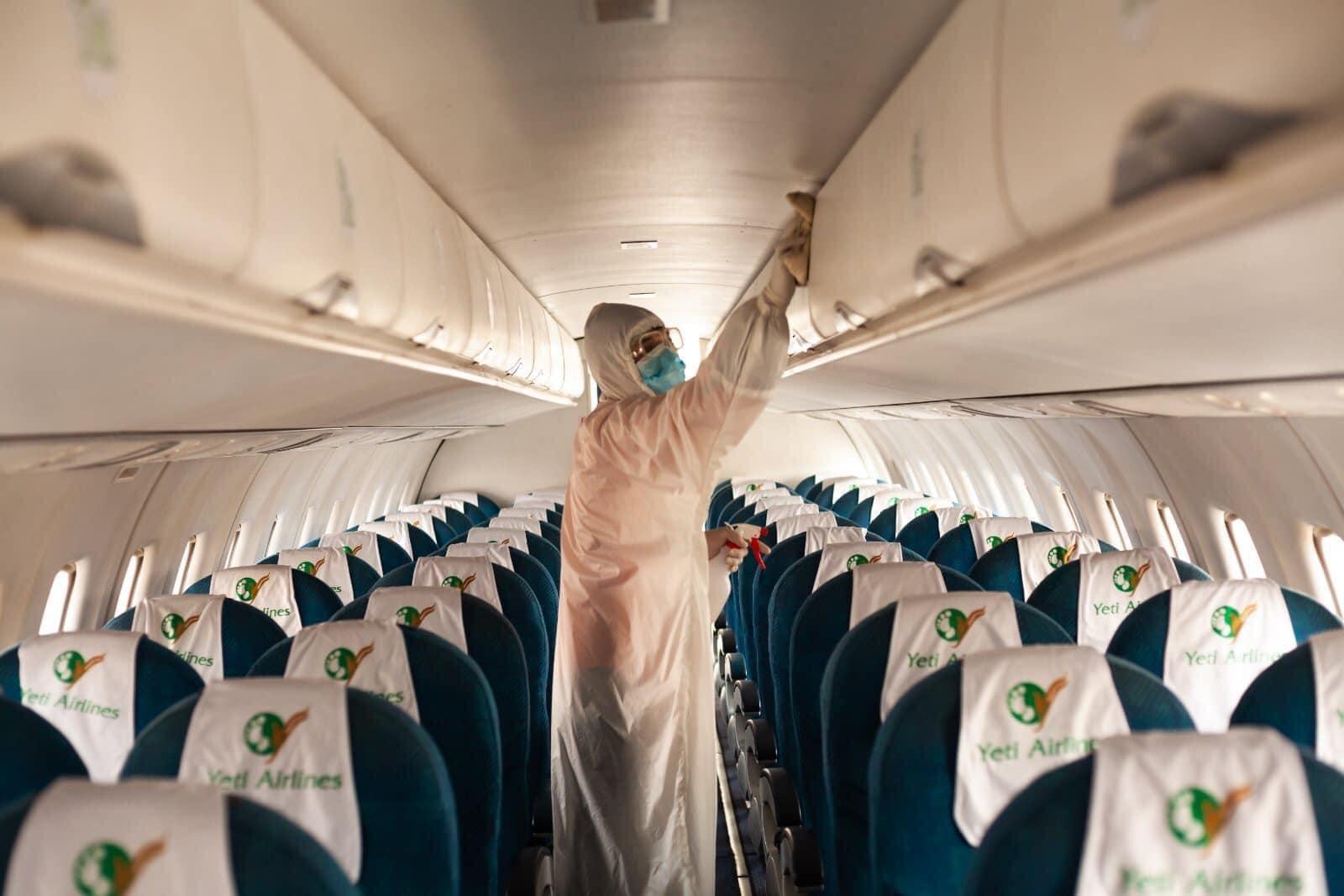कोरोना बढेसँगै यती एयरलाइन्सद्वारा स्वास्थ्य मापदण्डमा कडाइ