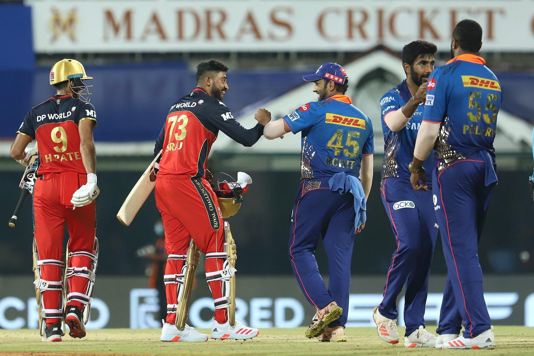 आईपीएल: बेङ्लोरसँग साविक विजेता मुम्बई पराजित