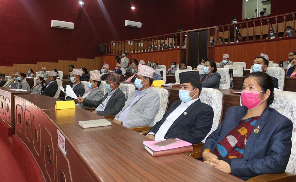 कर्णाली सरकारको नीति तथा कार्यक्रम आज प्रस्तुत हुँदै