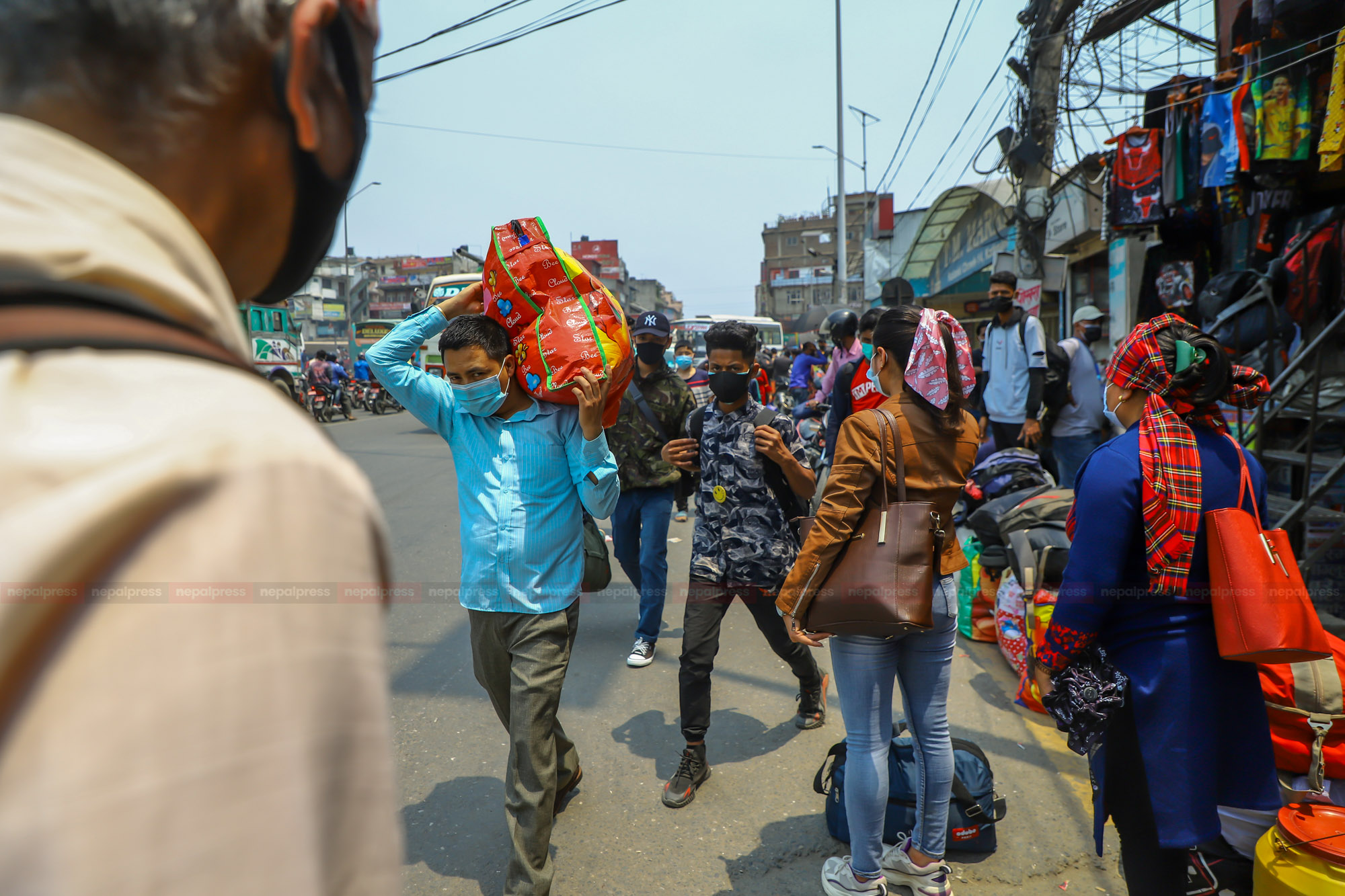 काठमाडौं छाड्नेलाई आज रातिसम्मको म्याद
