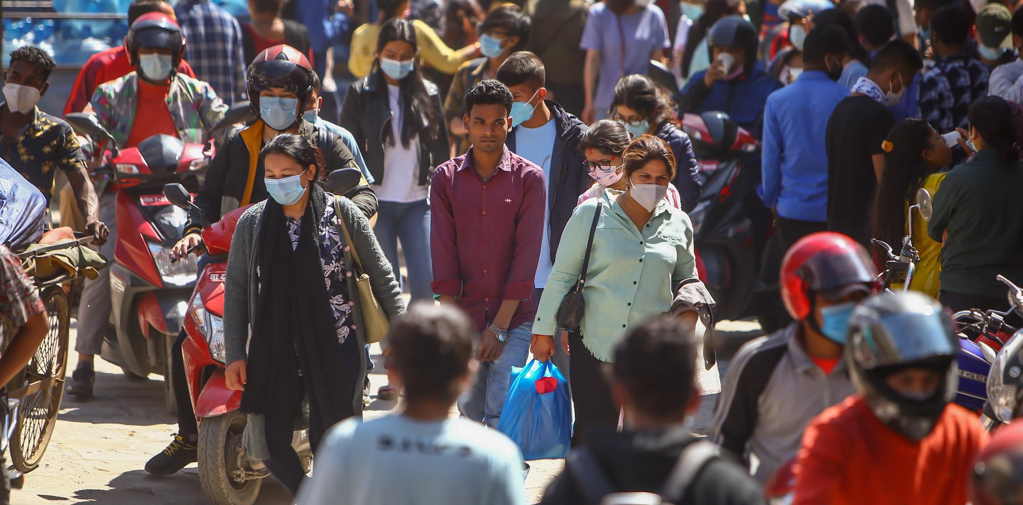 काठमाडौं उपत्यकामा थपिए ३९७ संक्रमित