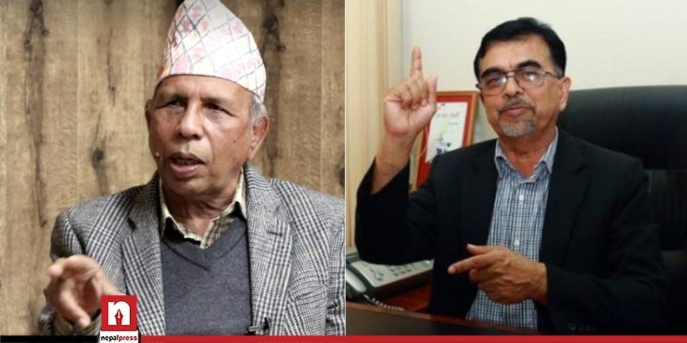 एमालेको आधिकारिकता दावी गर्दै माधव नेपाल पक्ष निर्वाचन आयोगमा, लिखित निवेदन दर्ता