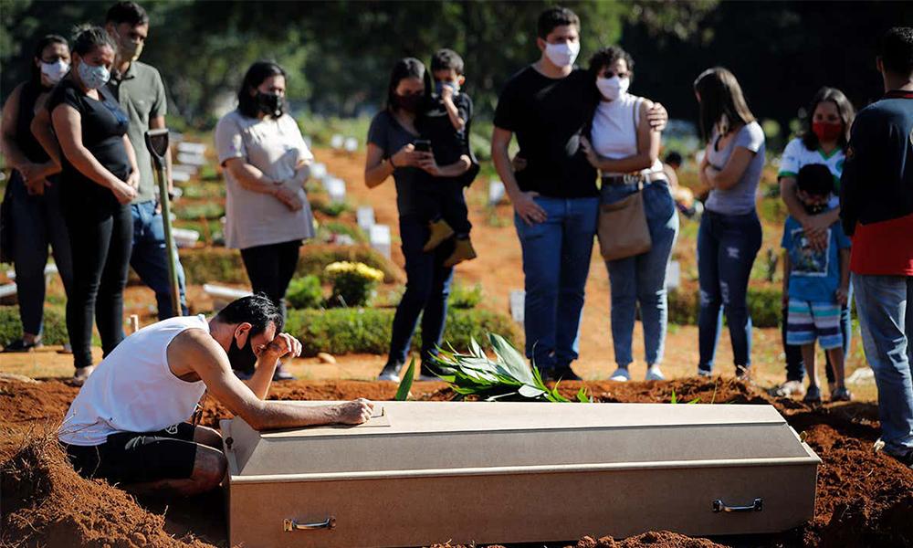 ब्राजिलमा कोभिड-१९ बाट मृत्यु हुनेको संख्या ४ लाख नजिक