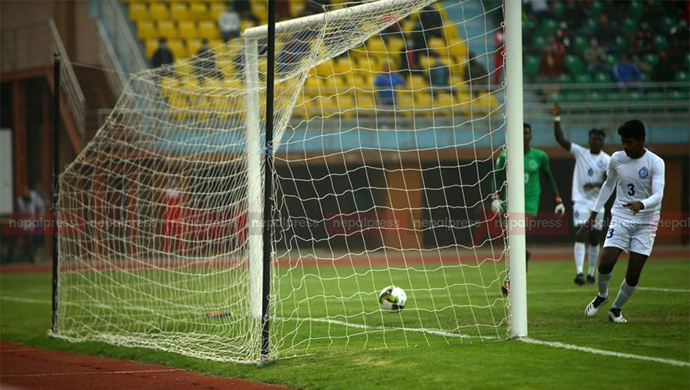 एएफसी कप प्रारम्भिक छनोट: श्रीलंका पुलिसलाई ५-१ ले हराउँदै त्रिभुवन आर्मी दोस्रो चरणमा