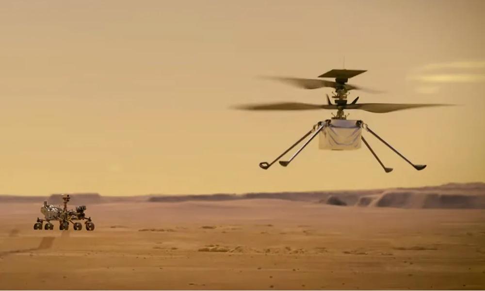 आज मंगल ग्रहमा हेलिकोप्टर उडाउँदै नासा, सफल होला प्रयास ?