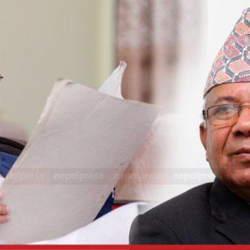 मेरियट होटलमा ओली-माधव नेपाल वार्ता, विष्णु पौडेल पनि सहभागी